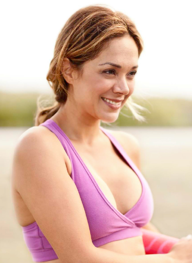 увеличение груди собственным жиром